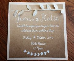 Day Invitation inc Brown Envelope